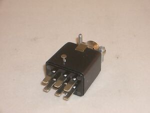 CINCH JONES BEAU MOLEX P-306-CCT 38331-5606 POWER CONNECTOR PLUG 6 PIN