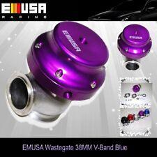 EMUSA 38mm wastegate V Band Purple Volvo Beetle Jetta Audi TT Honda Civic Accord