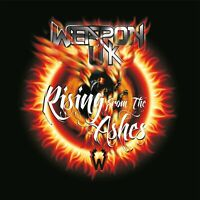 WEAPON UK - RISING FROM THE ASHES   CD NEW