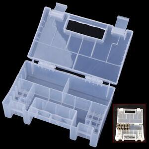 Multi-function Hard Plastic Battery Case Holder Storage Box for AA AAA BatteRI