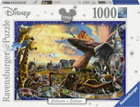 RAVENSBURGER JIGSAW PUZZLE DISNEY COLLECTOR'S EDITION THE LION KING 1000 PCS NEW