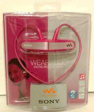 Sony NWZ-W202 Walkman MP3 Player (Pink) Japan Model