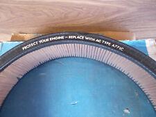 NOS New Vtg SCRIPTED AC GM Air Filter Element A771C Pontiac Firebird Dated 83