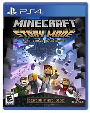 PLAYSTATION 4 MINECRAFT STORY MODE SEASON PASS DISC BRAND NEW