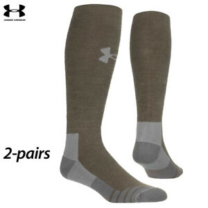 UA Socks: 2-PAIR Hitch Heavy 3.0 Boot (L) Hearthstone