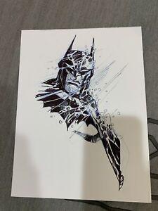 Eric Canete Batman original art