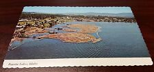 Vintage Payette Lakes, Idaho Postcard McCall Idaho Photo The Gem State