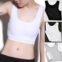 Lesbian Tomboy Compression Vest Tank Tops Breast Chest Binder Les Bandage Corset