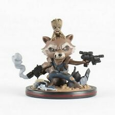 MARVEL - Q-Fig 14 cm - Rocket and Groot GUARDIANS OF THE GALAXY NEW