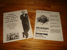 BOB NEWHART in Newhart and Off The Record 2 Emmy ads Tom Poston, Peter Scolari