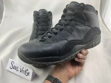 AIR JORDAN 10 OVO BLACK SIZE 12 USED!