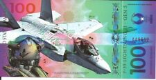 Usa banknote 100 dollars 2017 fighter planes