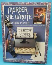 Murder, She Wrote Desktop Murder 550 Piece Mystery Puzzle