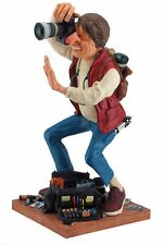 """Photographer by Guillermo Forchino Caricature Figurine Miniature 15""""H New"""