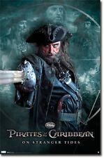 Pirates of the Caribbean Black Beard Poster Print T1300