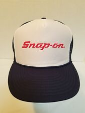Snap On Tools Mesh Hat Navy / White / Red Adjustable Vintage Cap (HB26)