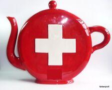 Teekanne Schweiz von jameson&Tailor 2,5 L-handbemalt