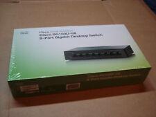 (NEW) Cisco SG100D-08 8 Ports 10-100-1000 Desktop Switch