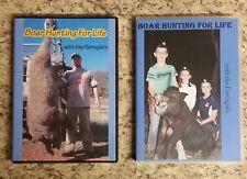Hog Wild Boar Hunting DVD - Boar Hunting For Life - Issue 1 & 2