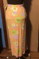 Sigrid Olsen Sport Women's Skirt Multicolored Floral Size 24W NWT