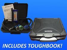 124032 Nexiq USB Link 2 with CF30 Toughbook Laptop 128GB SSD Win10 Pro 3 GB RAM