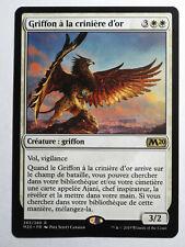 Griffon à la crinière d'or  - Goldmane Griffin    MTG Magic Francais EX