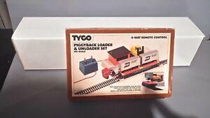 Ho Tyco BN Burlington Northern Piggyback Loader And Unloader