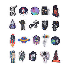 50pcs Spaceman Spaceport Skateboard Stickers Laptop Luggage Decals Sticky3
