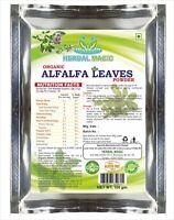 100g Certified Organic Alfalfa Leaves Powder Immunity Vitamin C Calcium Iron