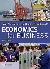 Economics for Business 5th edition by Dean Garratt, John Sloman, Kevin Hinde...