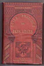 FRISCH & DAVID GUÍA PRÁCTICO EN EL PAÍS ÁRABE 1892 EO MAGREB LINGÜÍSTICA ÁFRICA