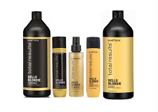 Matrix Total Results Hello Blondie Shampoo, Conditioner & Treatments