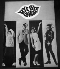 1961 BYE BYE BIRDIE RIVER DELL ORDELL HIGH Souvenir theater Program Booklet