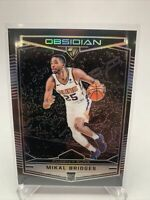 2018-19 Chronicles Mikal Bridges RC, Rookie Silver Obsidian Preview, Suns