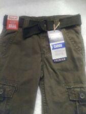 NWT Boys Cargo Wrangler Pants sz 5 reg
