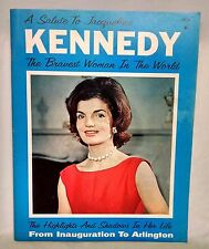 A Salute to Jacqueline Kennedy: The Bravest Woman in the World Vintage Book