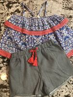 NWT BABY GIRL JESSICA SIMPSON 2pc. OUTFIT SIZE 18/24m