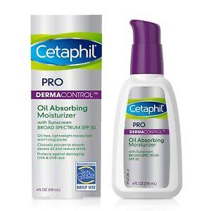 Cetaphil Pro Dermacontrol Oil Absorbing Face Moisturizer, For Oily Skin-4 Fl Oz
