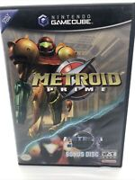 METROID PRIME Nintendo GameCube BONUS ECHOES DISC Black Label CIB & Tested!