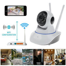 New 720P Wifi Wireless CCTV IR-CUT PTZ Home Security Dome IP Night Camera Cam UK