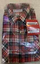 McGregor Bagpiper Flannel Shirt Brand New Size Large