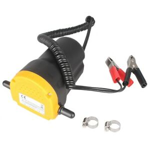 12V Transfer Pump Extractor Oil Fluid Scavenge Suction Vacuum Car Motorcycle