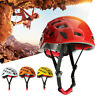 Mountaineer Vent Helmet Rock Climbing Caving Height Safety Work Rescue Hard Hat