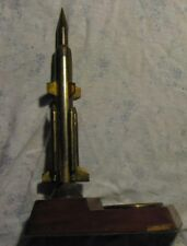 War Model Space ROCKET Force Statue Ash-tray Cigarette Urn Plate missile  Army