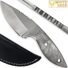 Drop Point D2 Steel Knife Blank Blade Making Hunting Skinner Skinning D-2 Knives