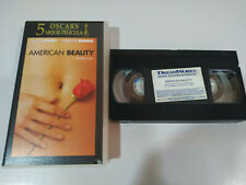 AMERICAN BEAUTY KEVIN SPACEY ANNETTE BENING - VHS Cinta Tape Español