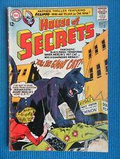 HOUSE OF SECRETS # 69 - (VG) -KILL THE GIANT CAT - ECLIPSO - MARK MERLIN'S CAT