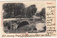 CGH: EDVII Postcard, Liebeek Bridge, Mowbray: Woodstock to Longney, 6-23 Ap 1904