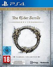 PS4 Spiel The Elder Scrolls Online: Tamriel Unlimited Steelbook Edition NEUWARE