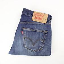 Mens Vintage LEVIS 501 Denim Jeans W32 L34 Regular Straight Leg | Mid Blue